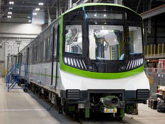 La première voiture du REM dévoilée à Montréal