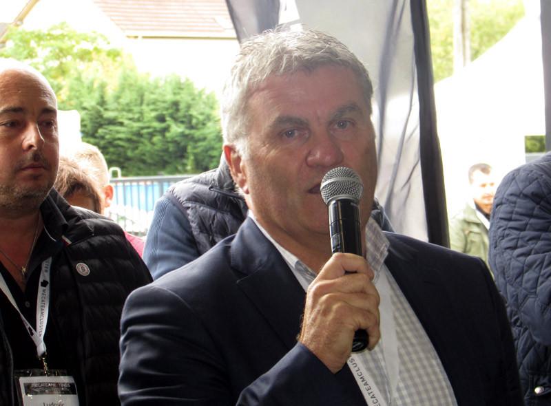 Didier Stainmesse, président du Mecateam Cluster