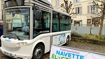 Bluebus équipe Triel-sur-Seine