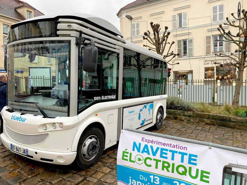 Navette Bluebus Triel-sur-Seine