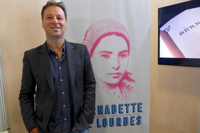 Roberto Ciurleo, producteur du spectacle « Bernadette de Lourdes ». © Catherine Mautalent