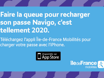 L'application Île-de-France Mobilités disponible sur iPhone