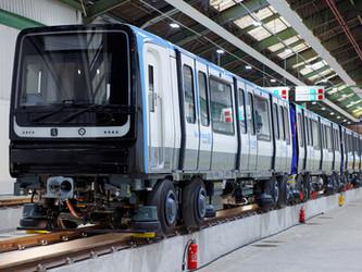 Le MP 14 d'Alstom sur la ligne 11 prolongée