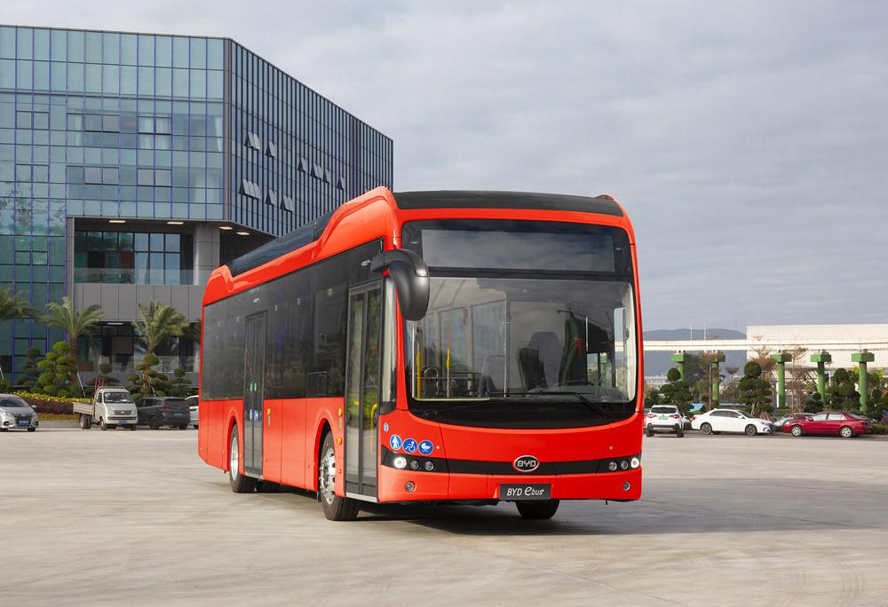 bus électrique BYD