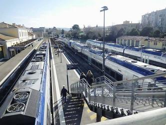 Aix-en-Provence pôle d'essais des rames à batteries de Bombardier ?