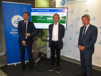 Un numéro vert pour rassurer en Auvergne-Rhône-Alpes