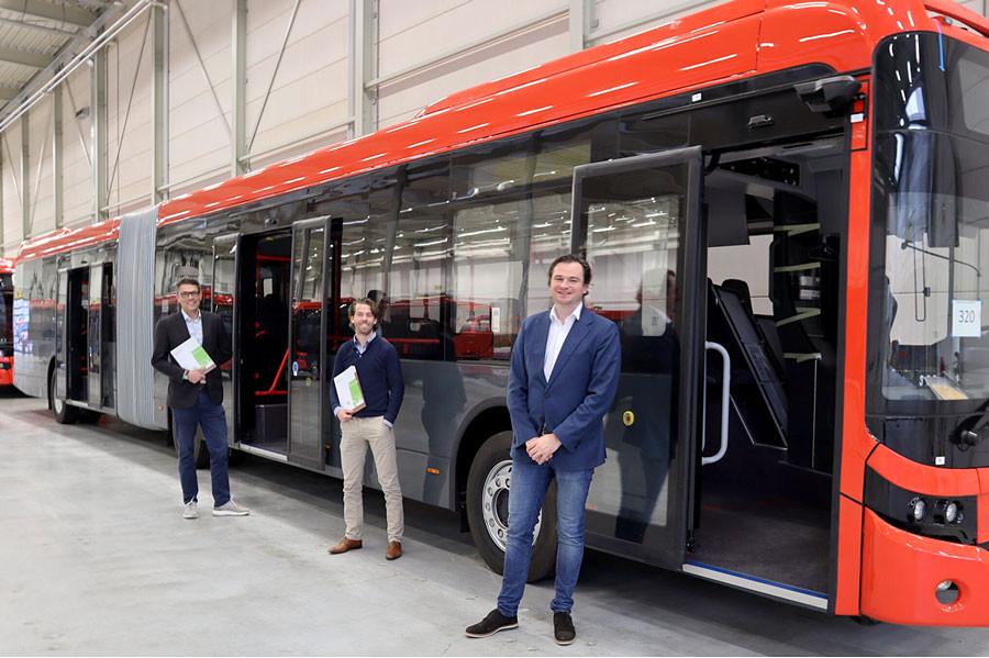 Ebusco et ViriCiti - bus