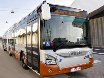 Premiers Urbanway hybrides pour la STIB