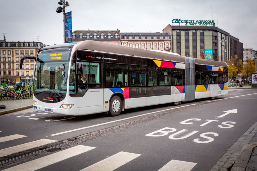 Bus Compagnie des Transports strasbourgeois (CTS)