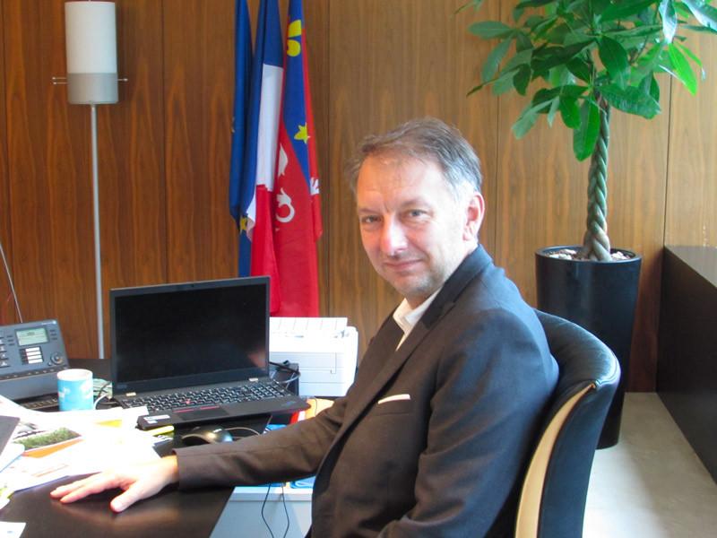 Bruno Bernard, président du Sytral.
