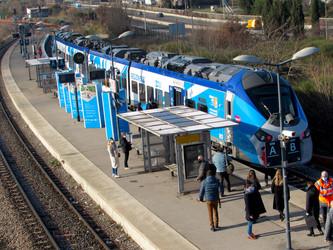 La ligne Aix-en-Provence-Marseille prend tournure, à Gardanne
