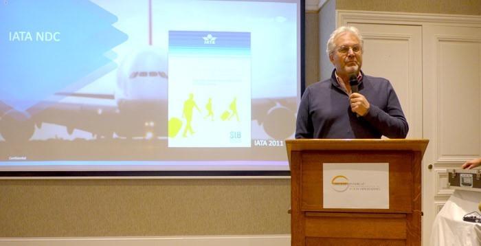 Philippe Chérèque, Président d'American Express Global Business Travel à Deauville.