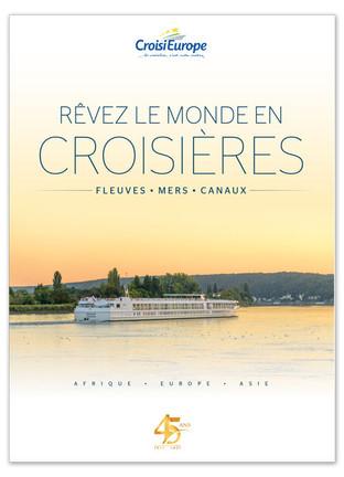 CroisiEurope lance la version intégrale de sa brochure 2021