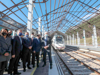 Une nouvelle gare à Canfranc ... en attendant la ligne !