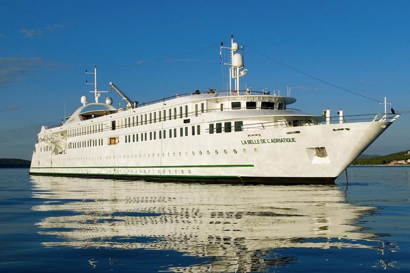 « les trésors de la mer Rouge, entre Egypte et Jordanie » à bord du MS La Belle de l'Adriatique.