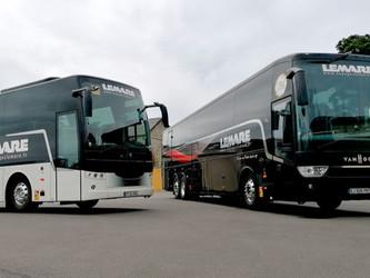 Voyages Lemare investit dans le système CAPS Van Hool