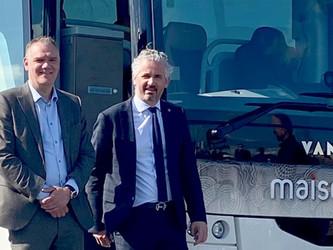 Maisonneuve poursuit ses achats chez Van Hool
