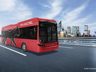 Premiers bus électriques Volvo en Australie