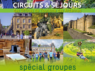 Ardennes : excursions et circuits groupes 2018