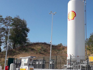 Shell France ouvre une station GNL