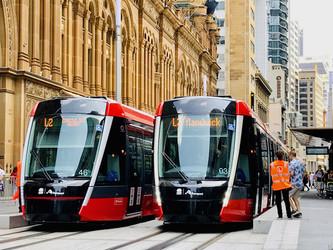 Un nouveau tramway à Sydney