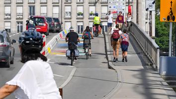 Nantes teste des vélos et trottinettes à la Chantrerie