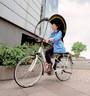 Bub-up® réhabilite le vélo sous la pluie