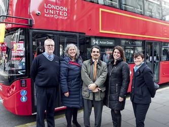 Londres s'électrise en BYD ADL