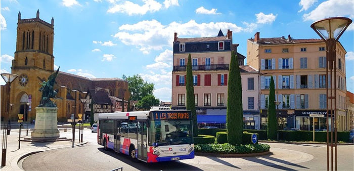 Roanne transports publics