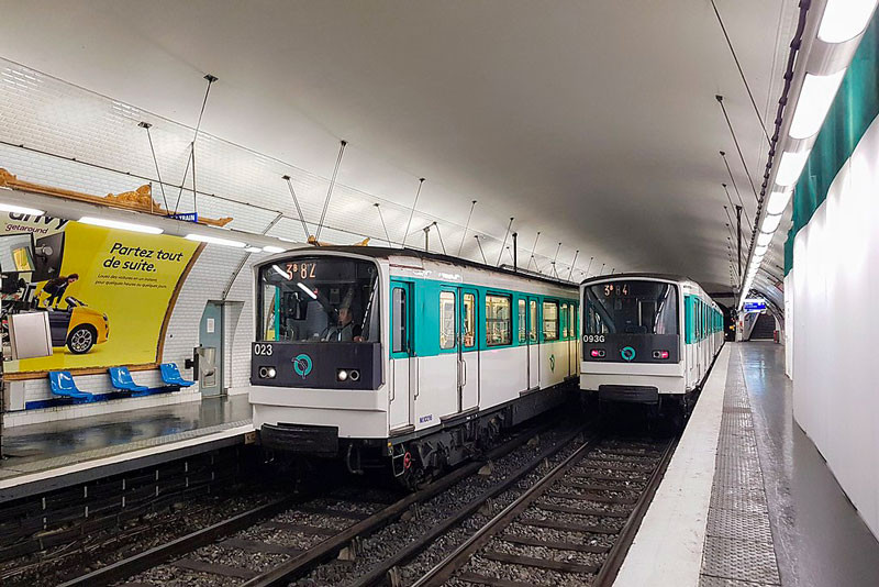 métro ligne 3bis