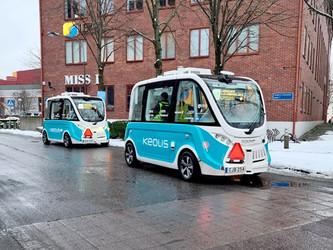 Göteborg teste 2 navettes autonomes intégrées au réseau urbain