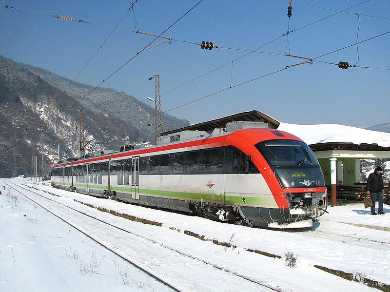 La ligne Sofia- Plovdiv