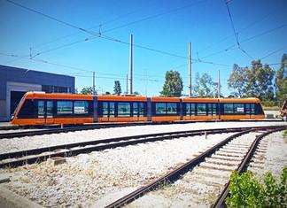 Alstom présente le tram Citadis X05 à Athènes