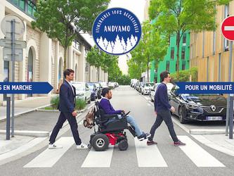 Andyamo guide les personnes à mobilité réduite
