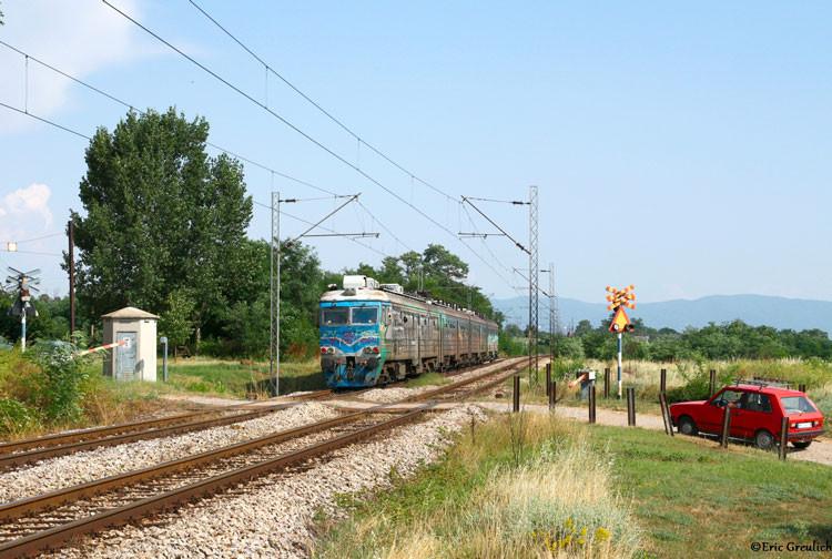train serbie