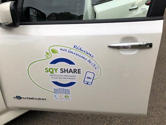Auto-partage : inauguration de SQY Share