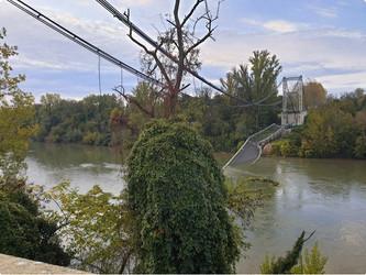 Toulouse : écroulement d'un pont