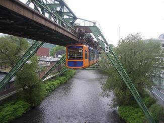Alstom installe l'ERTMS en l'air à  Wuppertal