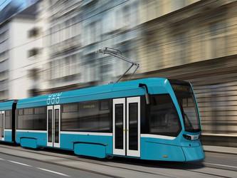 Le premier tram Solaris-Stadler est sorti d'usine !