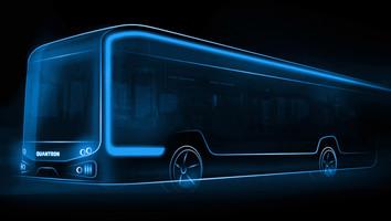Quantron lance un bus électrique de 12m