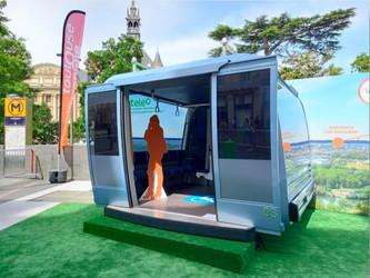 Toulouse expose la première cabine de son téléphérique
