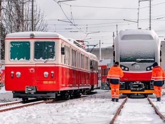 Première rame Stadler pour la ligne des Tatras