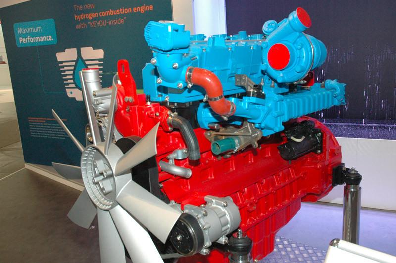 moteur à combustion hydrogène