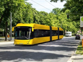 Le trolleybus bientôt de retour à Berlin !