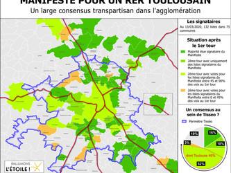 Le RER toulousain s'invite dans les élections