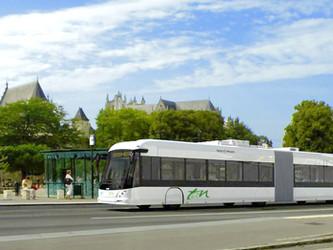 Nantes : le e-Busway testé par les voyageurs