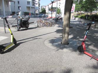 Lyon : Lime profite de la désaffection des transports en commun