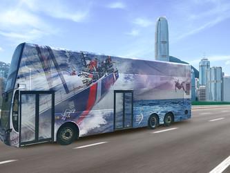 Un nouveau châssis Volvo B8L pour autobus à impériale