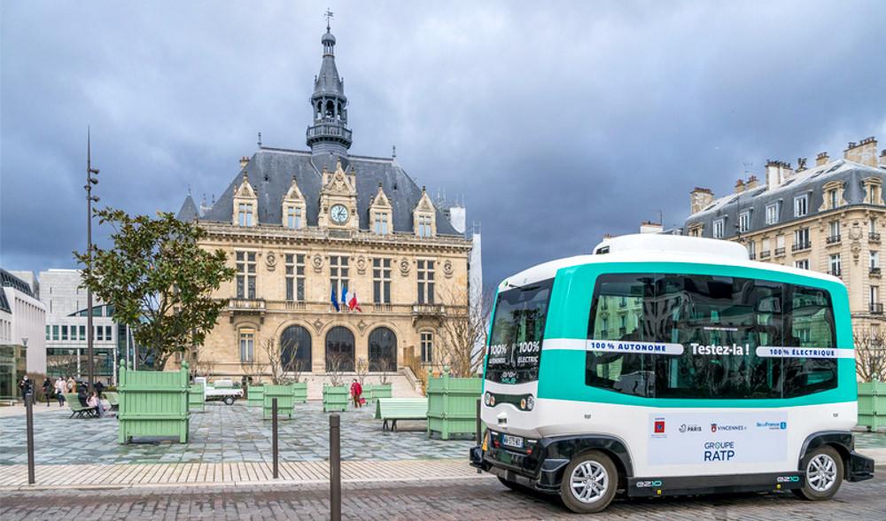 Vincennes, navette autonome
