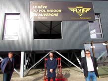 Flyin vole à Clermont-Ferrand-Aulnat